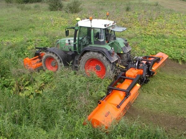 Triple Flail Mower - KX-860 | Superb Horticulture